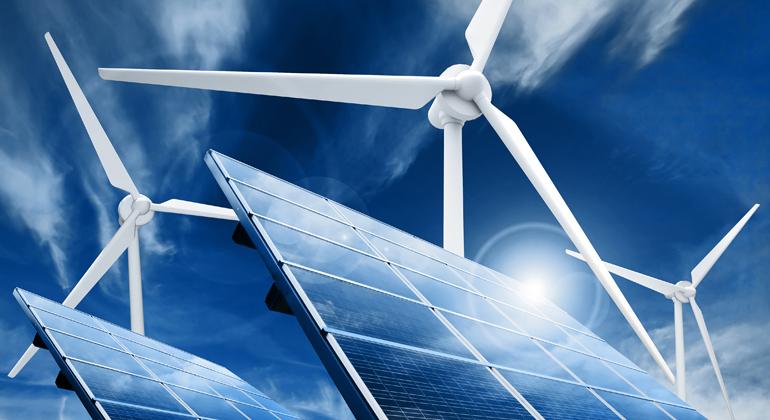 Depositphotos | taraki | 2019 war ein gutes Sonnen- und Wind-Jahr und die Erneuerbaren Energien lieferten deshalb mehr Ökostrom als je zuvor.