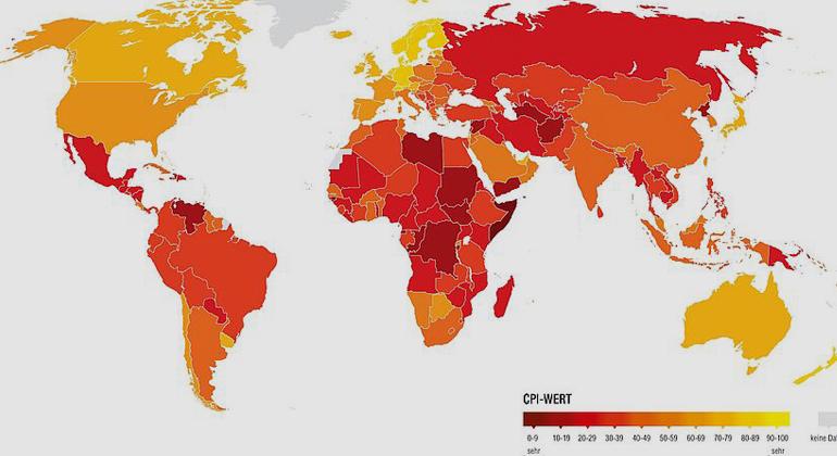 Korruptionswahrnehmungsindex 2019