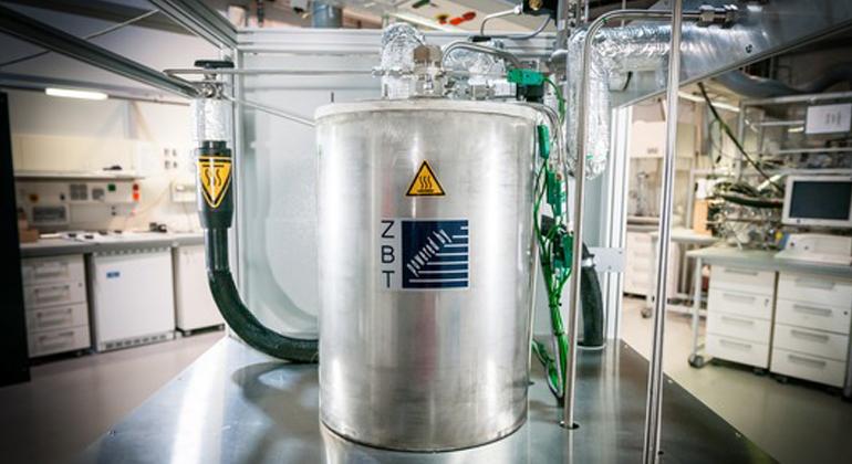Universität Duisburg-Essen   Ammoniak ist vielversprechend für eine nachhaltige, kohlenstofffreie Energieversorgung