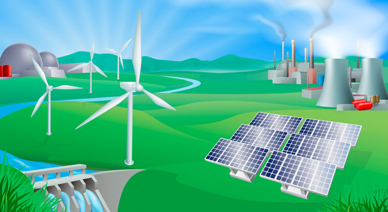 Electrification can cut emissions of transport, buildings and industry in Europe by 60 % by 2050