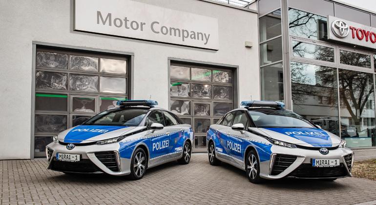 Toyota   Nachhaltige Fortbewegung durch das Revier