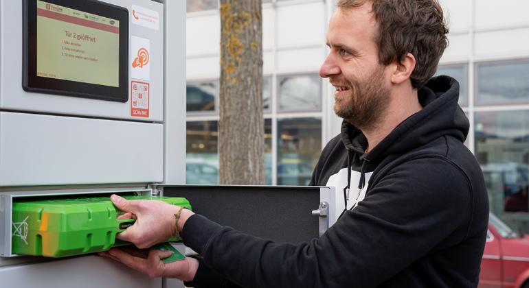 """badenova testet innovatives Projekt im Bereich der """"kleinen Mobilität"""""""