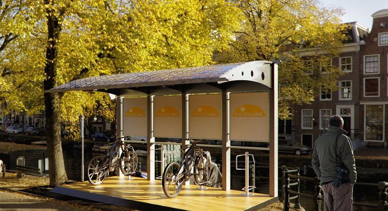 /pv-bikeport.de | Ladestation für E-Bikes und E-Roller - Der neue PV Bikeport ist eine Ladestation für E-Bikes und E-Roller, die den benötigten Strom umweltfreundlich und C02-neutral direkt aus der Energie der Sonnenstrahlung umwandelt.