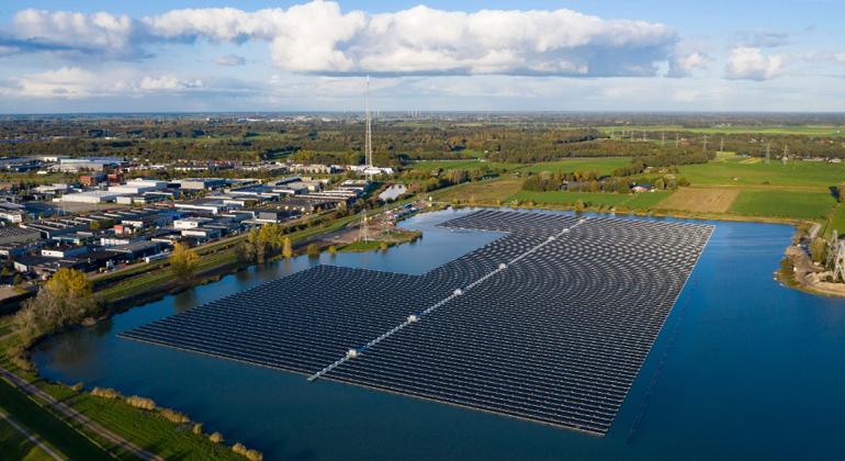 BayWa r.e. | Der Solarpark Sekdoorn bei Zwolle in den Niederlanden