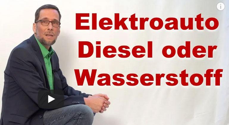 Elektroauto, Diesel oder Wasserstoff – Womit stoppen wir die Klimakrise?