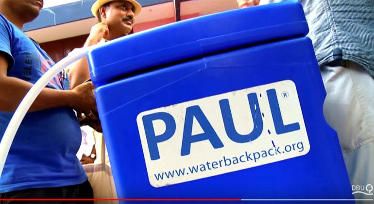 waterbackpack.org | Screenshot