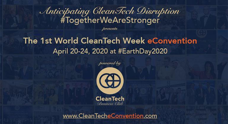 Clean Tech Convention: Onlinekonferenz zu erneuerbaren Energien