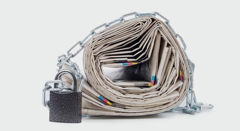 Rangliste der Pressefreiheit 2020: Journalisten unter Druck von vielen Seiten