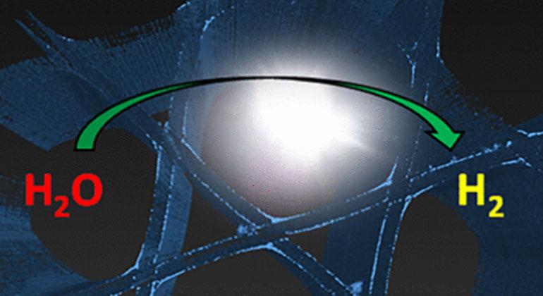 Optische Fasern produzieren solaren Treibstoff