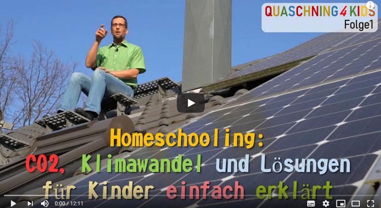 Homeschooling: CO2, Klimawandel und Lösungen für Kinder einfach erklärt