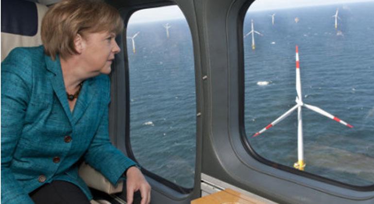 Petersberger Klimadialog: Merkel bekräftigt Zustimmung zu höherem EU-Klimaziel