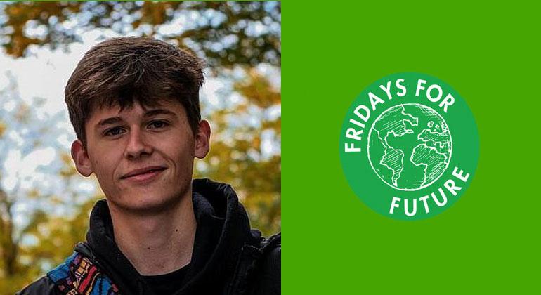 energiezukunft.eu | Jakob Springfeld | Jakob Springfield ist 18 Jahre alt und im sächsischen Zwickau für Fridays for Future, der Grünen Jugend und antifaschistischen Gruppen aktiv.