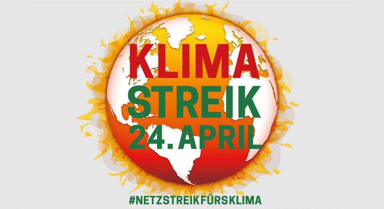 Weltweiter Klimastreik am 24. April wird zum Livestream