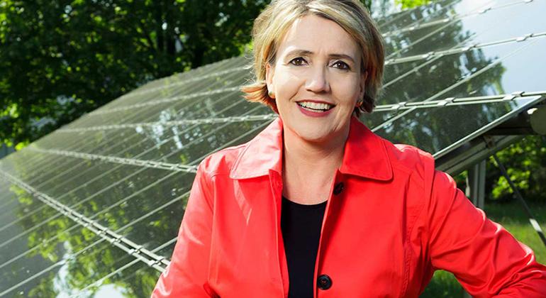 Rainer_Kurzeder | Dr. Simone Peter, Präsidentin des Bundesverbands Erneuerbare Energie (BEE)