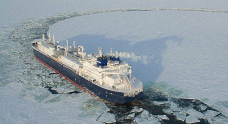 Meereis-Schmelze ermöglicht früheren LNG-Transport über Arktis-Route