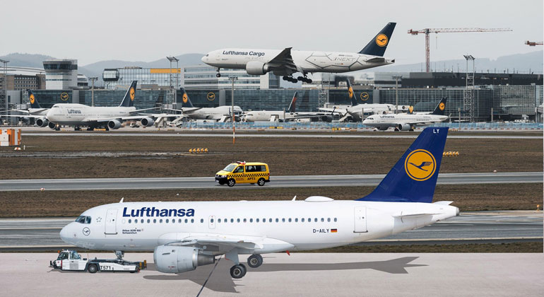 Luftverkehr: Weniger ist mehr saubere Luft