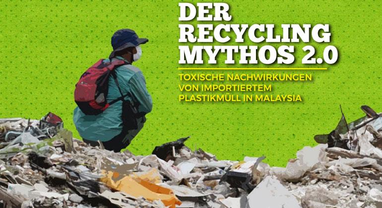 Deutscher Plastikmüll in Malaysia