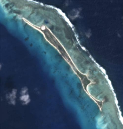 Runit Island Satellite Image | NASA / Public domain