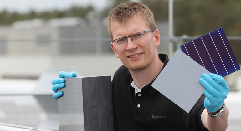 Fraunhofer IISB arbeitet an PERC Solarzellen ohne Wirkungsgradverlust
