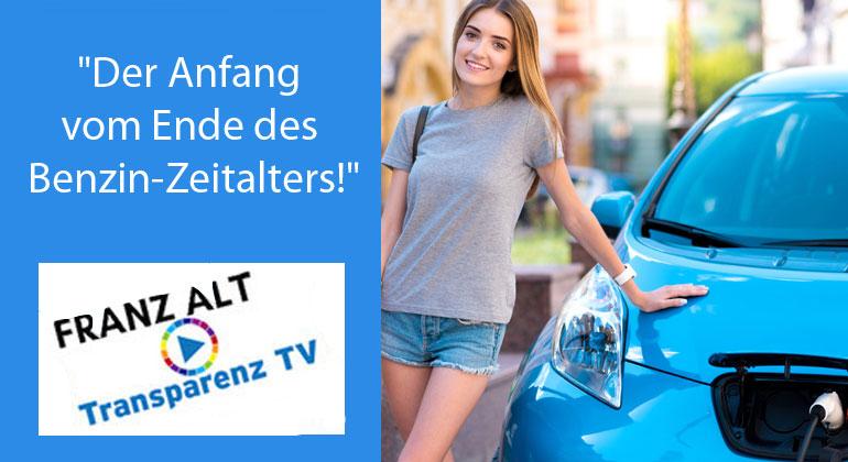 "Franz Alt: Franz Alt: ""Der Anfang vom Ende des Benzin-Zeitalters!"""