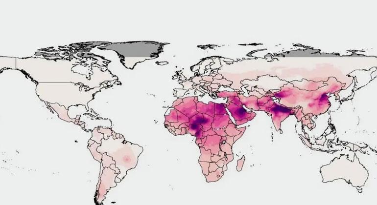 Hälfte der Menschheit ist zunehmender Luftverschmutzung ausgesetzt
