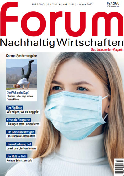 forum Sonderheft 2/2020 | Neubeginn - Aufbruch aus der Krise