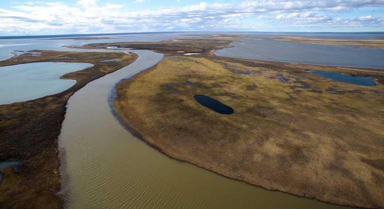 nornickel.com | Kontaminierter Fluss Ambarka