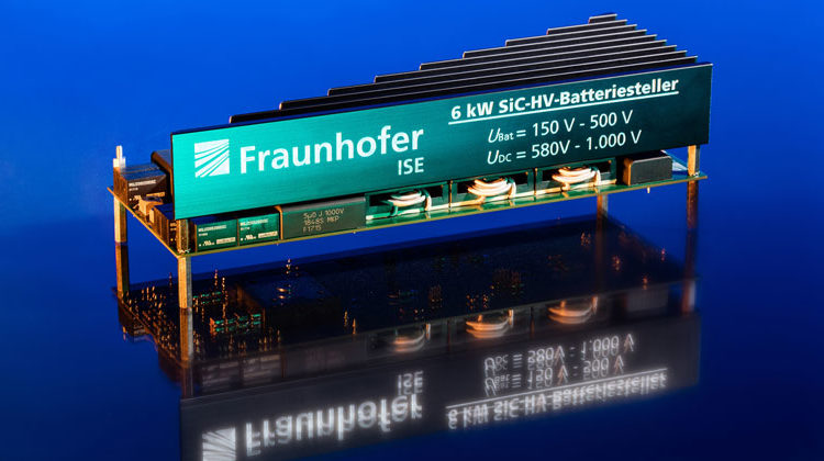 Fraunhofer ISE | Optimized battery charger for high voltage battery with 6 kWp nominal power