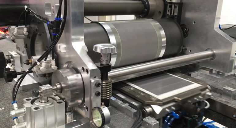 Fraunhofer ISE Develops with Partners a Novel High-Throughput System for Functional Printing