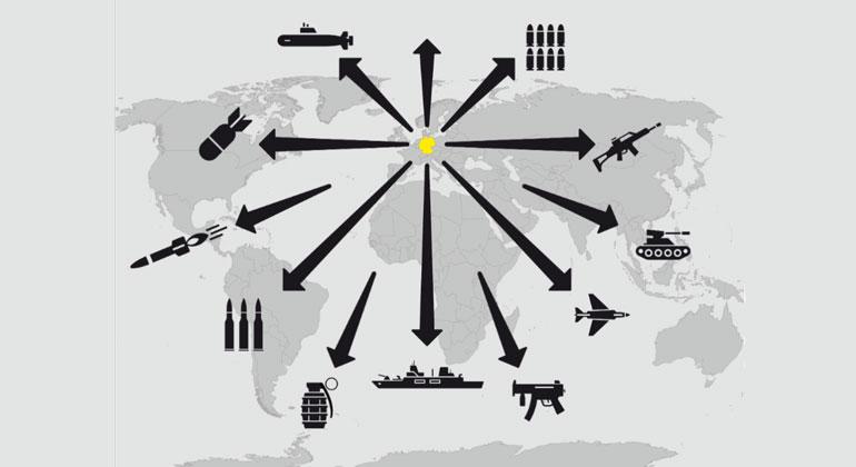 Greenpeace-Studie: Deutschland unterläuft europäische Rüstungsexportrichtlinien