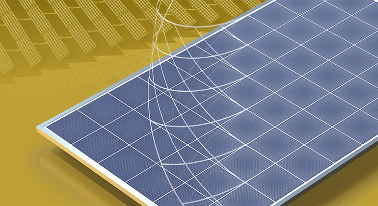 ICS-Solarfolie soll Ertrag von Solarmodulen um bis zu zehn Prozent erhöhen