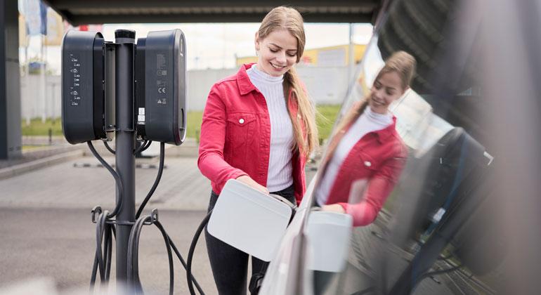 Innogy | Das Unternehmen kann Mitarbeitern als Bonus gestatten, ihr E-Auto kostenfrei zu laden.