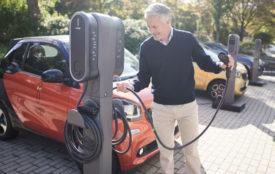 Innogy | Gerade bei Unternehmen werden sehr viele E-Autos auf Mitarbeiter- oder Kundenparkplätzen geladen.