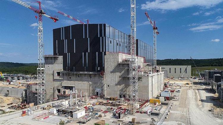 ITER Organization/EJF Riche | Die Baustelle des Kernfusion-Testreaktors Iter im Mai.