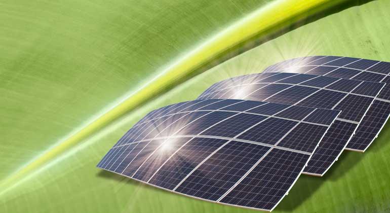 Solarzellen: Drei Kristallschichten erzeugen tausendfache Power