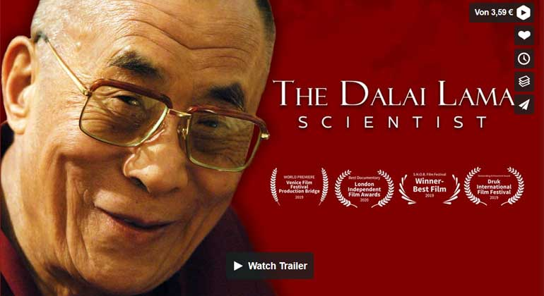 "Filmtipp: ""The Dalai Lama – Scientist"""