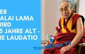 transparenztv.com | Seine Heiligkeit der 14. Dalai Lama wurde 1935 in Takster in Osttibet geboren. Nach der Besetzung Tibets durch China im Jahr 1959 floh er nach Indien, von wo aus er sich seitdem für die Unabhängigkeit seiner Heimat einsetzt. 1989 wurde er mit dem Friedensnobelpreis geehrt.