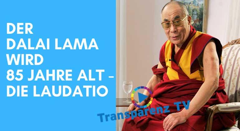 Franz Alt: Der Dalai Lama wird 85 Jahre alt – Die Laudatio