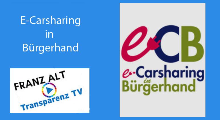 Franz Alt: E-Carsharing in Bürgerhand