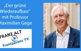 transparenztv.com | Foto: Simon Veith | Prof. Dr. Maximilian Gege - Vorsitzender B.A.U.M. e.V.