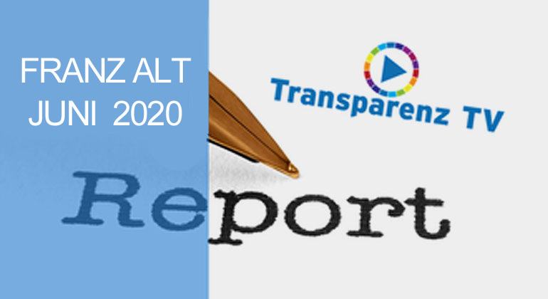 JUNI-Report-2020 mit Franz Alt