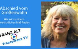transparenztv.com | Peter Meyer | Ute Scheub ist Autorin zahlreicher Sachbücher zu den Themen Frieden, Ökologie und Frauen.