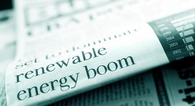 Erneuerbare Energien überholen erstmals fossile Energieträger