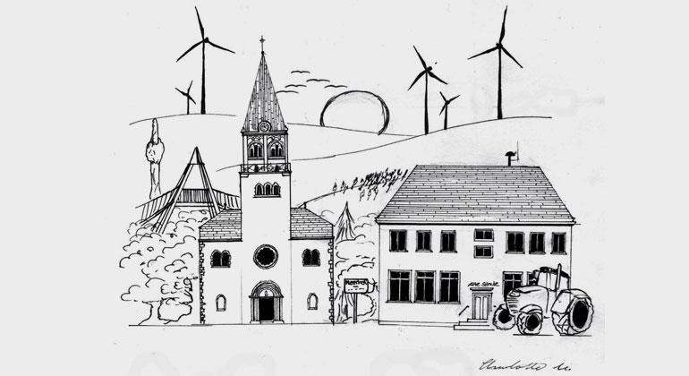 Windkraft macht es möglich: In Marsberg-Meerhof kostet Strom ab August nichts mehr …