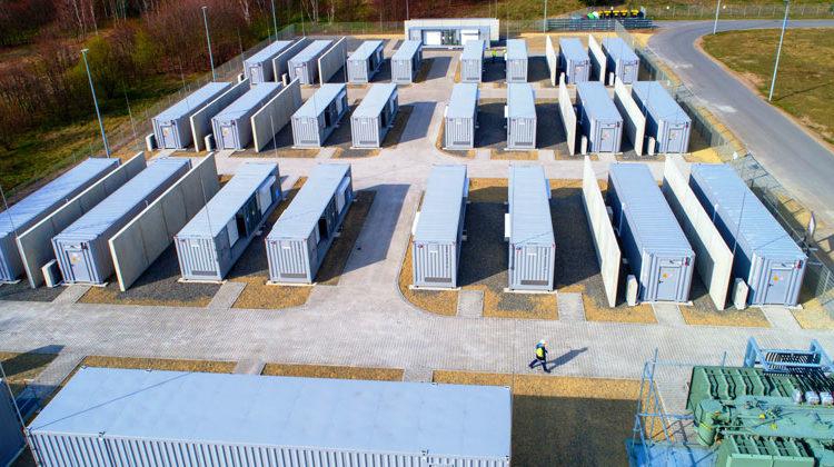 LEAG AG | BigBattery: Die Containeraufstellung April 2020