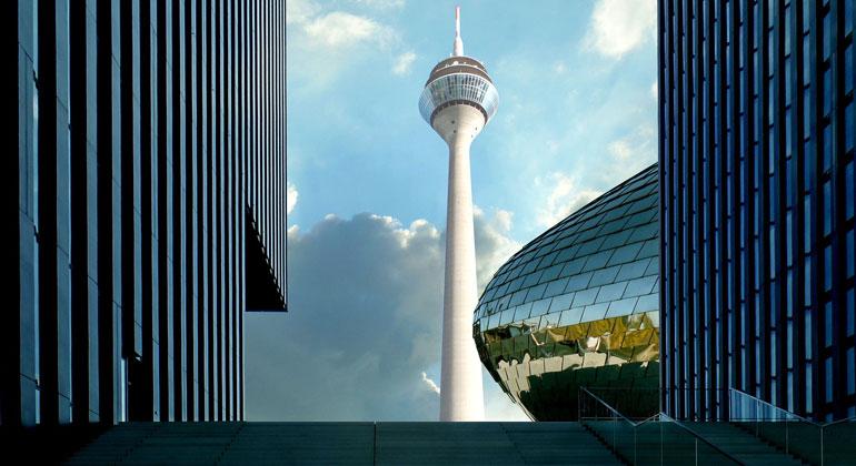 pixabay.com | Hans-G-Engleder | Medienhafen Düsseldorf