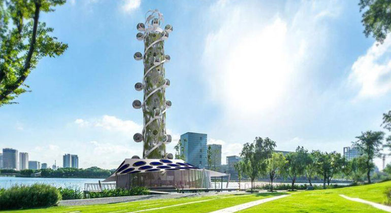 The Spiral Tower: first climate-neutral high-rise attraction in the world