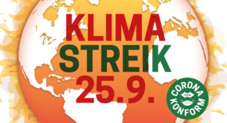 Fridays for Future: Klimastreik am 25. September!