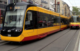 Wiki Commons_Kevin.B Tram in Karlsruhe