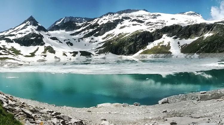 pixelio.de | gubran | Gletscher Weisssee